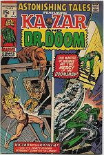 Astonishing Tales #2 (Marvel 1970) VF+: Ka-Zar/Dr. Doom