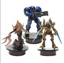 STARCRAFT 2 Action Figures Marine Zealot Hydralisk Miniature Bottle Cap Set Gift
