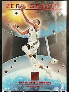 Giannis Antetokounmpo Clearly Donruss RED Zero Gravity #/49 NBA Champion