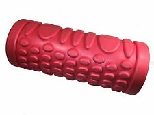 Yoga Pilates Roller Foam with Grids Sports Exercise Fitness Gear Hot Pink