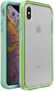 LifeProof SLAM Series Shockproof Case for iPhone Xs MAX, Sea Glass Easy Open Box