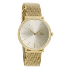 Lacoste Original 2001000 Women's Moon Gold Stainless Steel Mesh Watch 35 mm