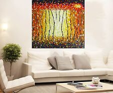 "Aboriginal Australia  Art Painting The Bush Fire Dream Large 47"" Made To Order"