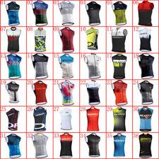 2021 Cycling Jersey Mens summer quick dry sleeveless bike shirt MTB bicycle Vest