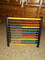 Vintage Wooden Abacus Holgate Counting Frame