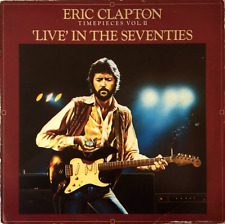 ERIC CLAPTON - Timepieces Vol. II: 'Live' In The Seventies (LP) (F+/G-)