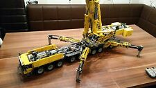 Building Instruction 42009 9 Axis Car Crane Self-Made Unique MOC Lego Technic