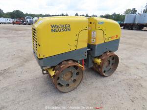 2019 Wacker Neuson RTSC3 Vibratory Trench Compactor Wireless Remote bidadoo