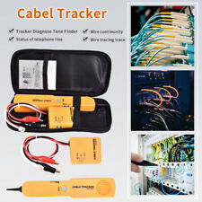 More details for 1x cable finder tone generator probe tracker wire network tester tracer kit w2e