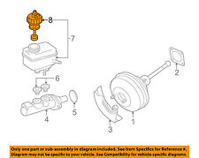 Audi Oem Tt Quattro-Brake Master Cylinder/other Reservoir Tank Cap 1J1611349(Fits: Audi)