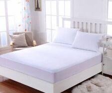 Protector de colchón ALGODON 100% Rizo IMPERMEABLE, funda colchón