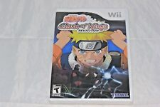 Naruto: Clash of Ninja Revolution (Nintendo Wii, 2007) Brand New Factory Sealed