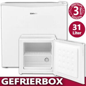 Gefrierbox 31 Liter Mini Gefrierschrank Gefriertruhe Froster freistehend Stand