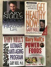 Gary Null Healthy Life 4x Book Lot Anti-aging Power Foods