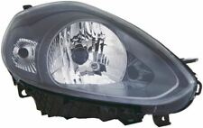 Fiat Punto Evo 2009-2012 Black Front Headlight Headlamp O/S Drivers Right