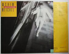 Achim reichel nuit Express d'érable 1983 LP + inner