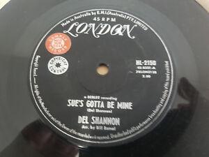 NOW SHE'S GONE // DEL SHANNON US ROCKER LONDON 1963 PROMO