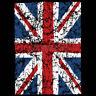 United Kingdom Union Jack Distressed Flag Great Britain London Cool T-Shirt Tee