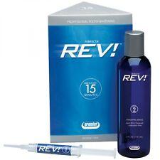 PREMIER PERFECTA REV REFRESHER PAK 14% Teeth Whitening Gel & Rinse DAMAGED BOX