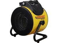 World Marketing EUH1500 1500 Watts 5,120  BTU Electric Forced Air Heater with Pi
