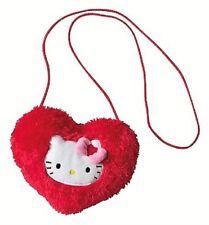 Détails sur   Hello Kitty - Sac à Main Peluche - Coeur Rose - Sanrio