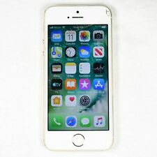 Apple iPhone 5s Verizon 16GB (A1533) GOLD - BROKEN ASIS - UNLOCKED - Cracked
