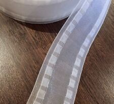 POSTAGE IS $9.50 ANY QUANTITY 75mm TRANSPARENT WAVE S FOLD TAPE $3.95 per metre