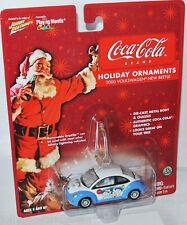 Coca-Cola - 2000 VOLKSWAGEN NEW BEETLE - white/blue - 1:64 Johnny Lightning