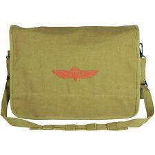 Rugged Canvas Israeli Paratrooper Shoulder Bag by Fox Outdoor  ACC-0105-OD