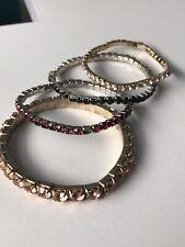 Stretch Bracelets Lot Of Rhinestone