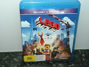 The Lego Movie Blu-ray - VGC - Region B