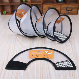 AG_ Pet Dog Cat Anti Bite Safety Neck Collar Cover Healing Cone Protective Filmy
