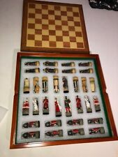Mongols vs Russia Chess Set with Board  #69