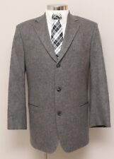 Mens 42R Hugo Boss Mars Grey 100% Wool Blazer Original Tiroler Loden