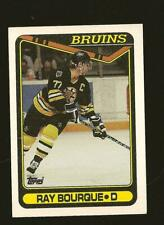 Topps 1990  Ray Bourque Boston Bruins NHL Hockey Card #43