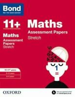 Bond 11+: Maths: Stretch Papers 10-11+ years by Paul Broadbent 9780192742117
