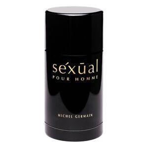 SEXUAL pour HOMME MICHEL GERMAIN for MEN 2.8 oz (80g) Full Size Deodorant Stick