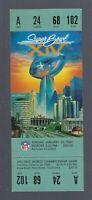 VINTAGE 1979-80 NFL SUPER BOWL XIV FULL TICKET PITTSBURGH STEELERS vs LA RAMS