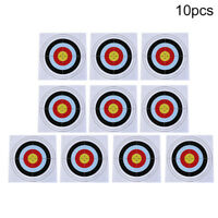 10pcs 40cm x 40cm target paper face for outdoor arrow bow shooting hunting  TDO
