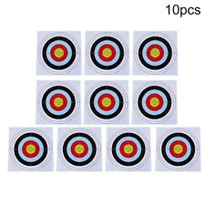 10pcs 40cm x 40cm target paper face for outdoor arrow bow shooting hunting ZT