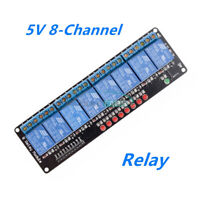 5V 8-Channel Relay Module Shield For Arduino Uno Meage 2560 1280 ARM AVR PIC DSP