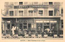 AUTUN - Hôtel terminus et de la gare