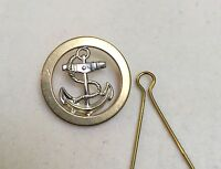 Royal Navy Junior Ratings Metal Beret Badge, Cap, RN, Military, Hat, Anchor