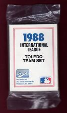 1988 TOLEDO MUD HENS 28-card ProCards baseball team FACTORY set DETROIT TIGERS