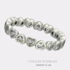 Authentic Pandora Sterling Silver Forever More CZ Ring Size 50 (5) 190897CZ