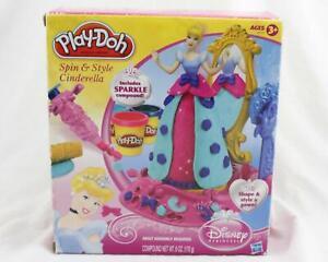 Play Doh Disney Princess Spin & Style Cinderella NEW A074