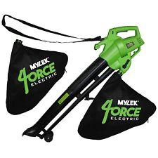 More details for mylek leaf blower garden vacuum 6 speed and shredder mulcher 2 x 35l bag, 3000w