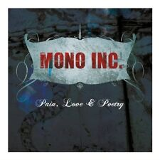 MONO INC. Pain, Love & Poetry (Collector's Cut) CD Digipack 2013 + Bonustracks