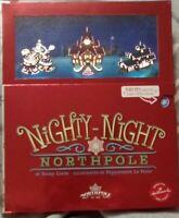 Nighty-Night Northpole By Soozy LOOTS-2014 Hallmark Christmas light up Book used