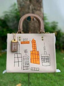 NWT Coach X Jean-Michel Basquiat Rogue 25 Crossbody Shoulder Bag 6887